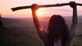 女性 太陽
