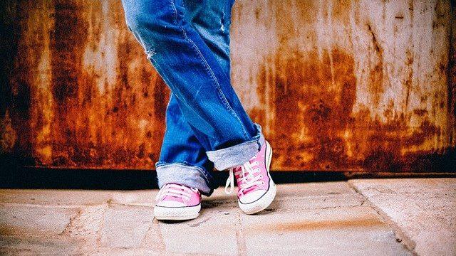 ジーンズ 靴 シューズ