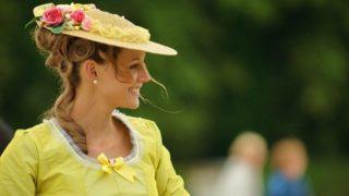 女性 エレガント 黄色