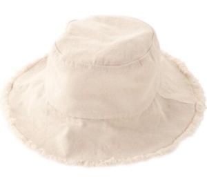 アイボリー 帽子