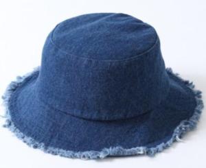 帽子 デニム